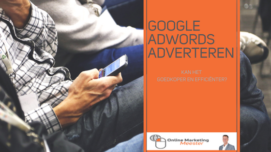 Google Adwords Adverteren